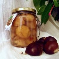 castagne sciroppate, chesnuts