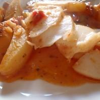 baccalà e patate, al forno, casafacilefelice.org