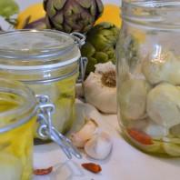 www.casafacilefelice.org,carciofini sottolio,conserve saporite,