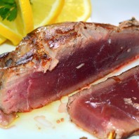 www.casafacilefelice.org,tagliata di tonno,cottura al sangue