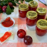 marmellata di prugne rosse,video recipe,video ricetta,casafacilefelice.org