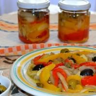 peperoni e melanzane arrostiti,casafacilefelice.org