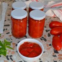 pomodori a pezzetti,polpa di pomodori,tomato pieces,casafacilefelice.org