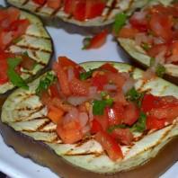 melanzane grigliate farcite