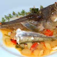 zuppa di pesce contadina